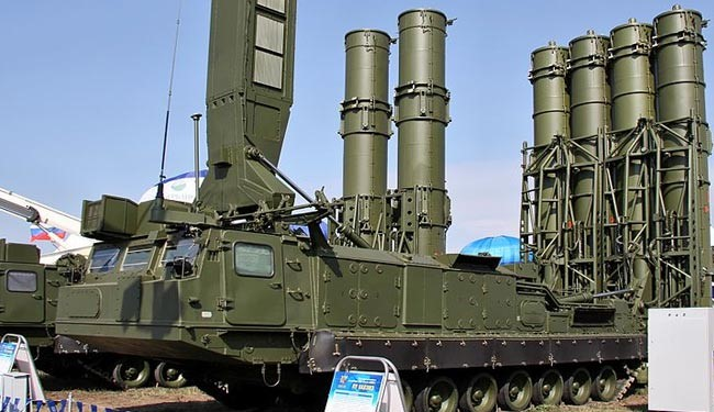Russian-built S-300 air-defense system (file photo)
