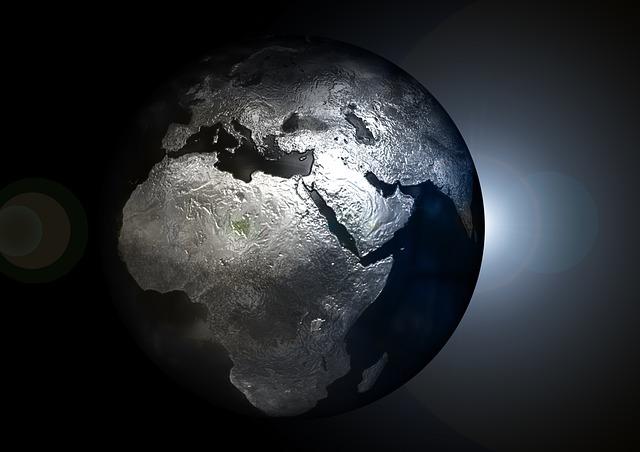 globe world planet