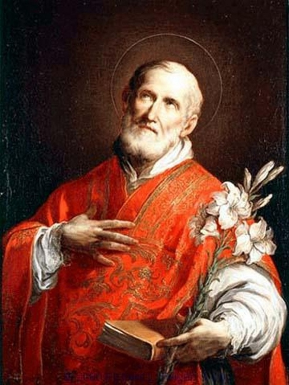 St. Phillip Neri is called the saint of joy.