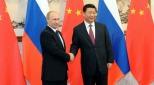 Russia's President Vladimir Putin & China's President Xi Jinping