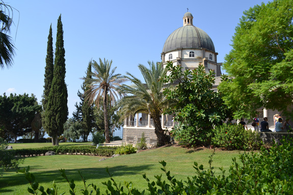 Franciscan Catholic Church Atop The Mount of Beatitudes.