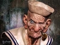 Jaundice eye Popeye