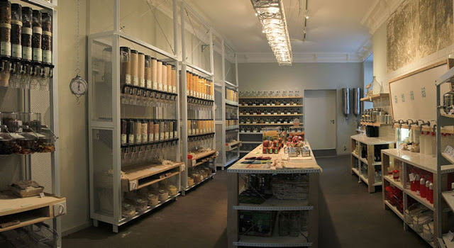 The first zero-waste grocery store in the world.