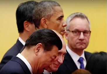 China Xi Russia Putin USA Obama
