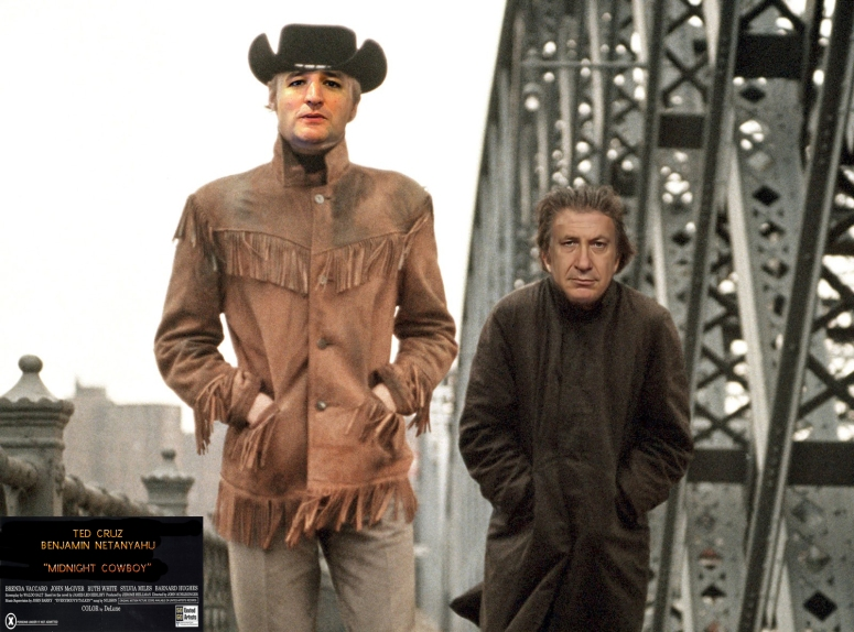 cruz-netanyahu-midnight-cowboy