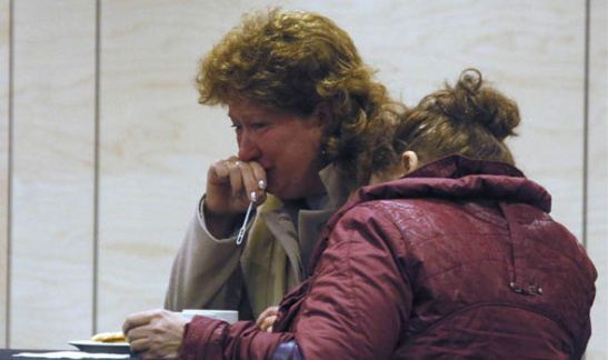 Relatives and the friends of passengers aboard the Metrojet flight that crashed in Egypt