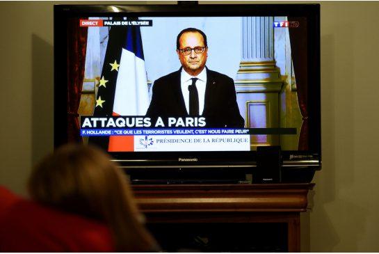 Paris under siege: Dozens dead, hostages taken in terror attacks  Hollande-size-xxlarge-letterbox