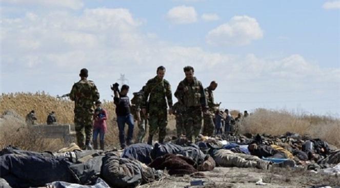 ISIS Terrorists Killed in Deir Ezzur, Syria.