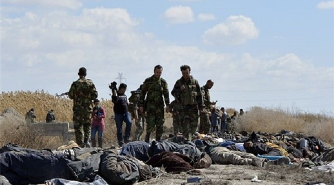 ISIS Terrorists Killed in Deir Ezzur, Syria.