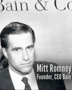 Mitt Romney ~ President Of Bain Company Who Funneled Money For NWO Through Their Banking System.