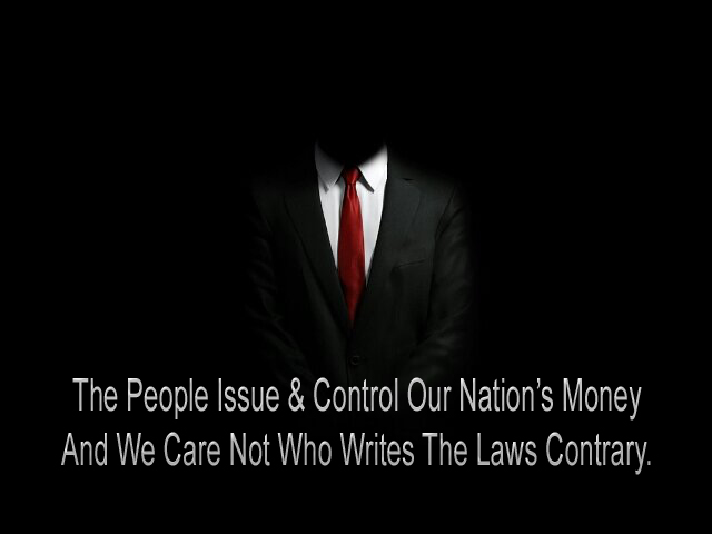 People Issue Money