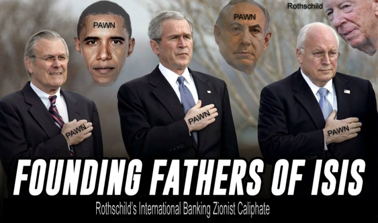 rothschild caliphate zionists isis