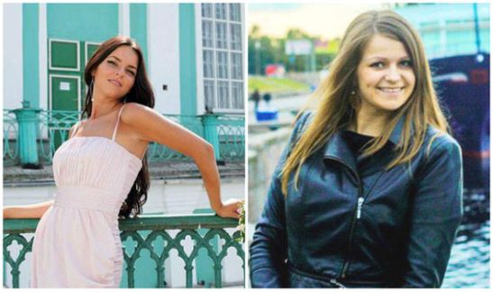 Yulia Buleyva and Valeria Bogdanova were killed in the Russia plane crash