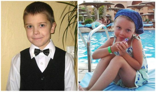 Russia plane crash victims Anton Bogdanov and Alena Moiseeva were among the 17 children killed