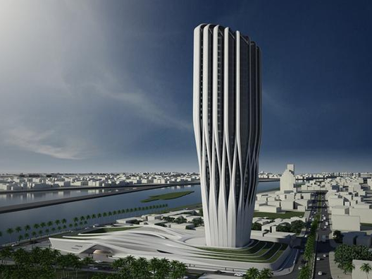 """Central Bank of Iraq finalises agreement with Zaha Hadid Architects to design new office headquarters in central Baghdad The Central Bank of Iraq on February 2 signed an agreement to begin the process of building new headquarters on the shores of the Tigris River in Baghdad. """"The new building shall be a symbol of the [central] bank's role in the economic development of Iraq and a reflection of the determination to rebuild the country,"""""""