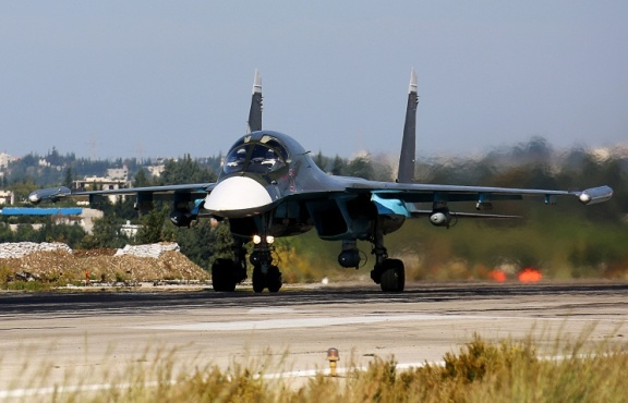 Russian Bomber Su-34