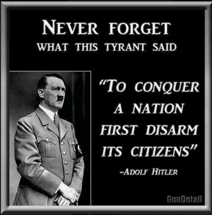 hitler gun disarm