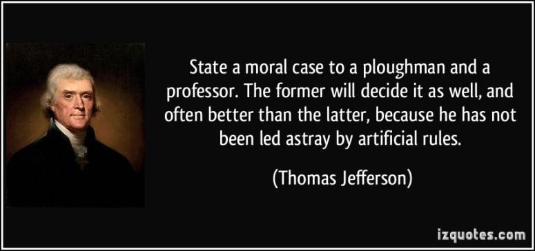Jefferson Ploughman Professor