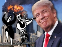 Trump Learns About The 5 Dancing Jews Filming 9/11