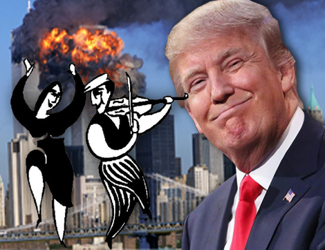 Trump 9/11 Israel Mossad