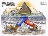 tyranny left right polarity