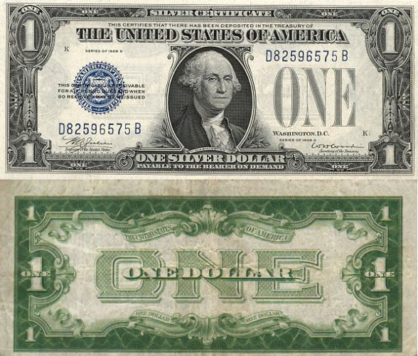George Washington Silver Certificate