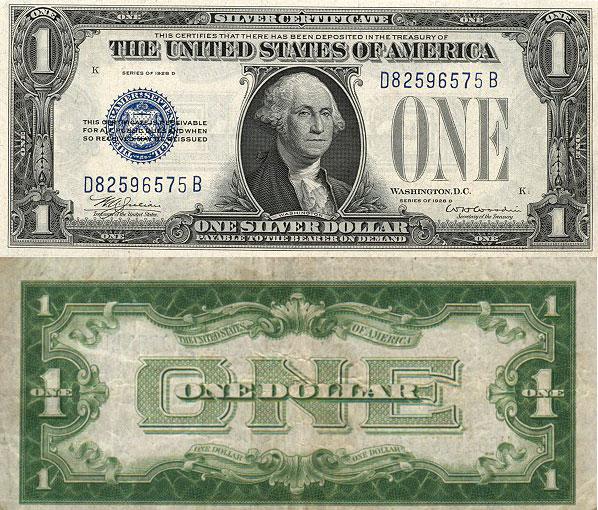 George Washington Silver Certificate