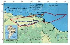 Russia ~ Venezuela Orinoco Oil Belt In Blue.