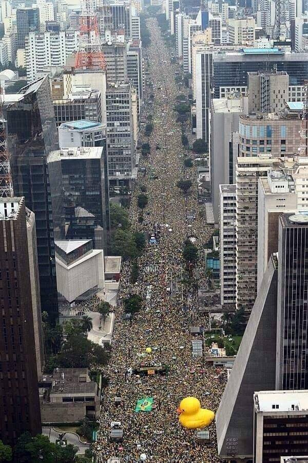 Brazil Revolution March 2016