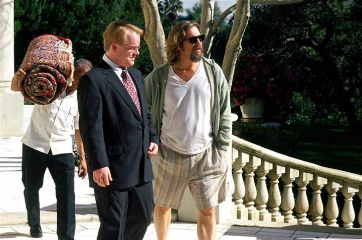 "When mixed-up would-be thugs break into The Dude's home by mistake, one of them urinates on his rug as a show of force. It's ridiculous, yes, but for The Dude, that makes things personal. He ends up getting a replacement rug from the real ""Big Lebowski,"" which is good because as fans know, it really tied the room together."