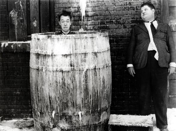 Stan Laurel & Oliver Hardy