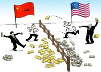 China Dumping U.S. Paper Currency For Gold