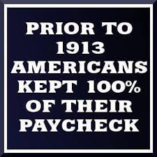 1913 tax federal reserve