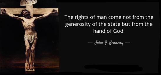 Kennedy Rights God