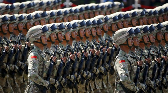 China's Army In Syria August 2016