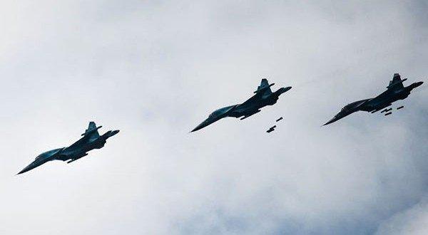 Russian Airstrikes Aleppo