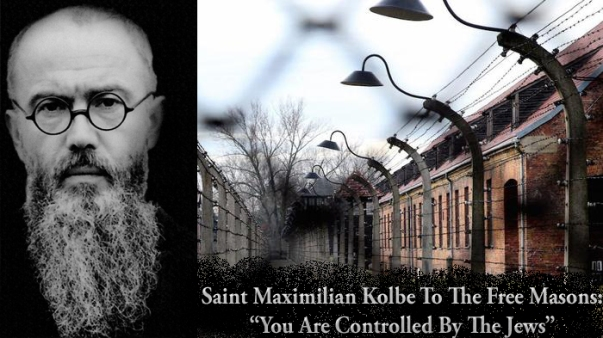 Saint Maximilian Kolbe Masons Jews