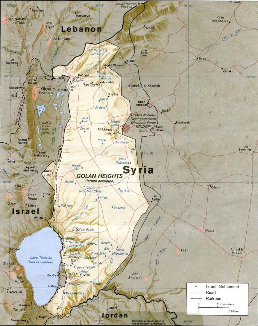 Golan Heights, Syria
