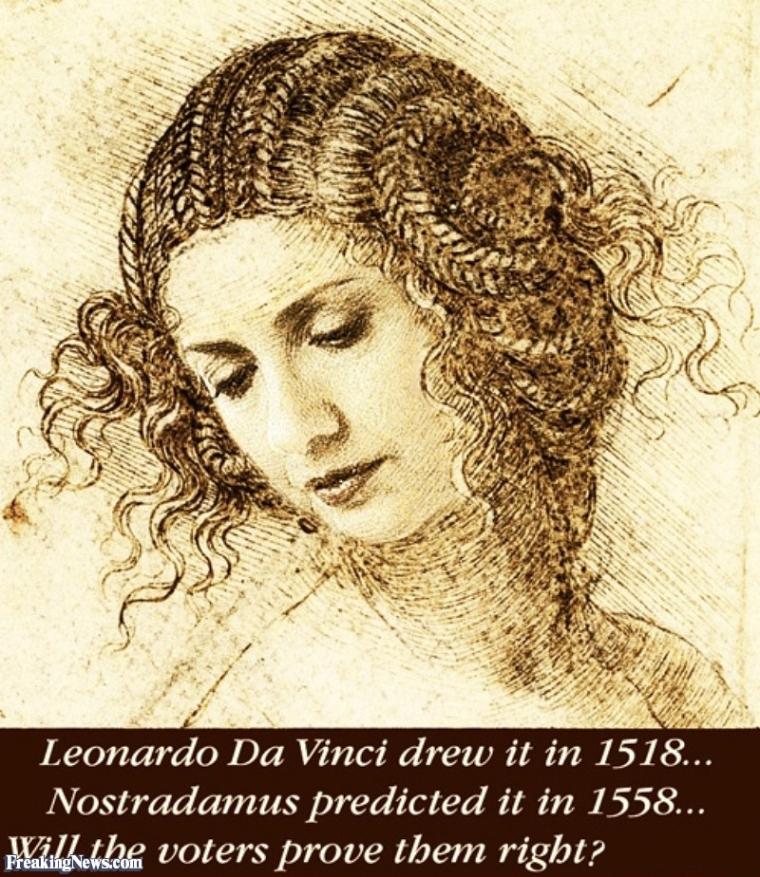 Hillary Clinton ~ Da Vinci Code