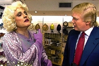 Years ago, Rudy Giuliani donned an ill-fitting mauve dress and high heels, slipped on a blonde wig, and sprayed himself with perfume, enticing Donald Trump to bury his face in Giuliani's mock bosom. The bit, a video for the Inner Circle party in 2000, was played for laughs at the annual event at the New York Hilton, where the local press and mayor converge every spring to roast each other.