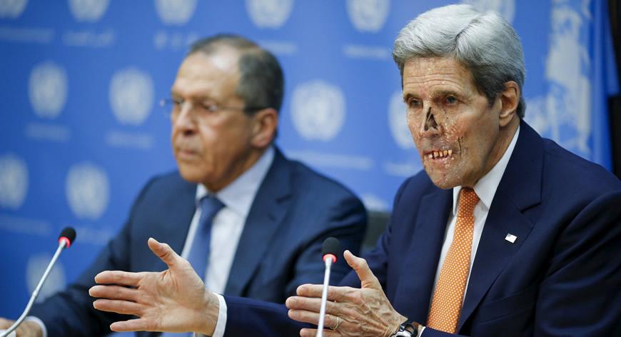 Lavrov Russia ~ Kerry Zionist Hidden U.S. Government