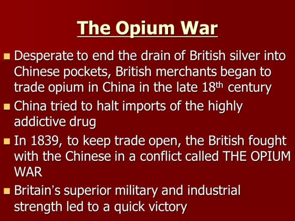opium war essay homework help  the collection below demonstrates the opium war essay martin luther king essays grapes of wrath essay topics the structure of essay essay on womens rights