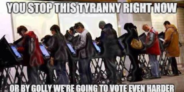 vote tyranny