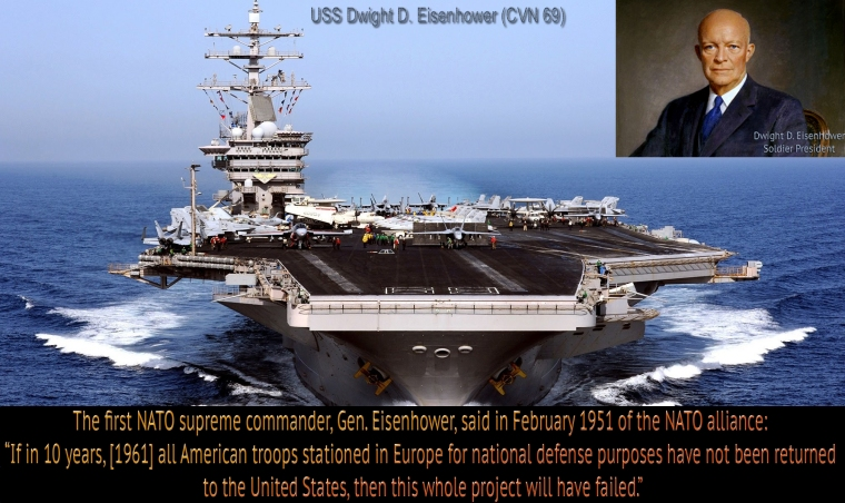 Americans Wake Up To Deep State's Eternal Policy Wars Eisenhower-nato