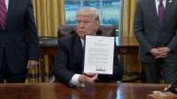 """President Donald Trump on Monday 1/23/2017 nullified the behemoth TPP trade deal he inherited from Barry Soetoro. """"We've been talking about this for a longtime,"""" Trump said as he signed the order in the Oval Office. """"Great thing for the American worker."""" President Trump"""