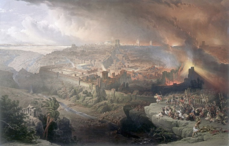 Destruction Of Jerusalem 70 A.D.