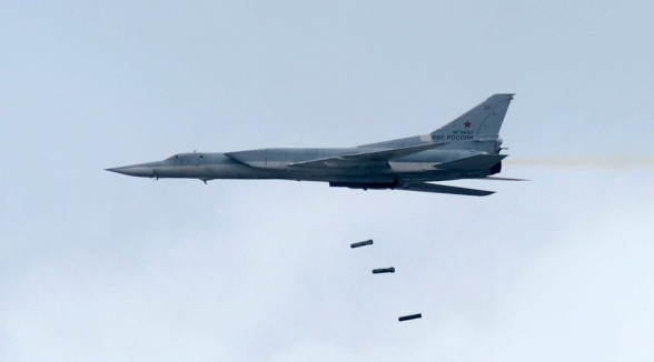 russian tu 95 strategic bombers destroy u s israeli center in raqqa syria political vel