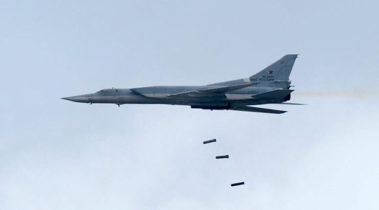 Russian Tu-22M long-range strategic and maritime strike bomber