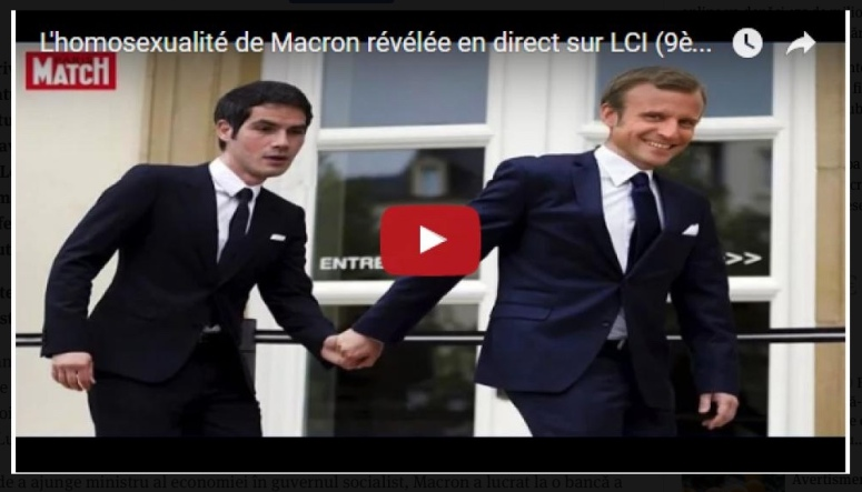 Macron homosexual