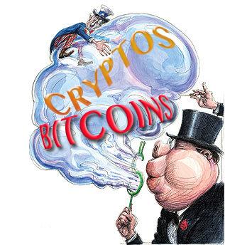Bitcoin's Virtual Bloodbath: All Cryptocurrencies Simultaneously Plunge Bitcoin-bubble